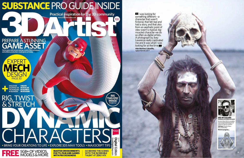 3DArtist Magazine issue 105 Feature :D by AldoMartinezC