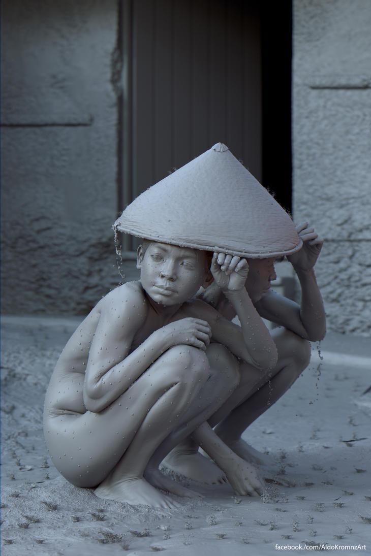 Sheltered gray by AldoMartinezC
