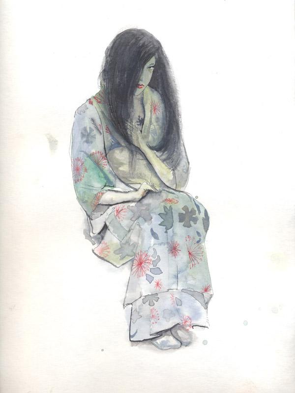 Geisha by Nikrstic