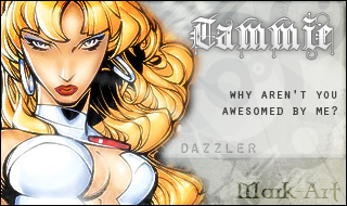 Marvel-Dazzler by thebrazilianMark