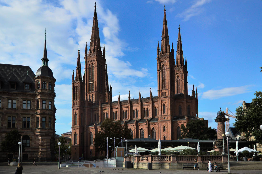 Markt Kirche by shishas
