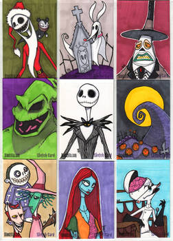 NMBC Sketch Cards