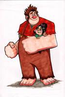 Wreck it Ralph by Bloodzilla-Billy
