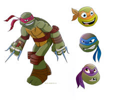 Turtles Test by Bloodzilla-Billy