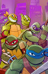TMNT Animated Variant Cover