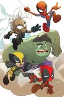 Marvel Chibis