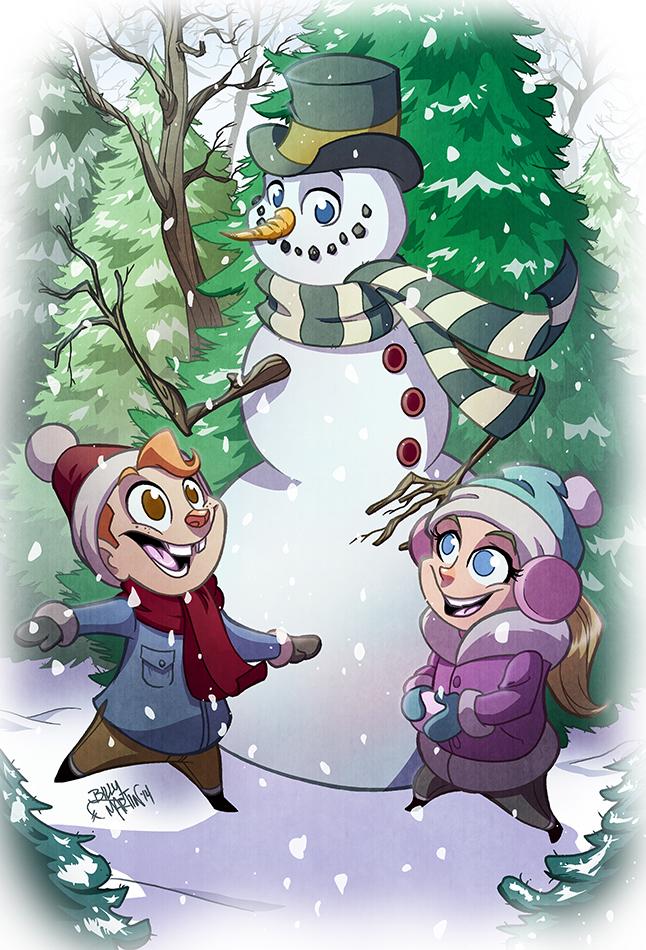 Happy Holidays 2014 by Bloodzilla-Billy