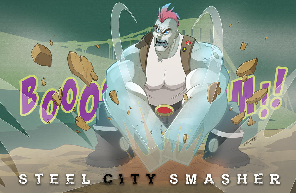 Steel City Smasher by Bloodzilla-Billy