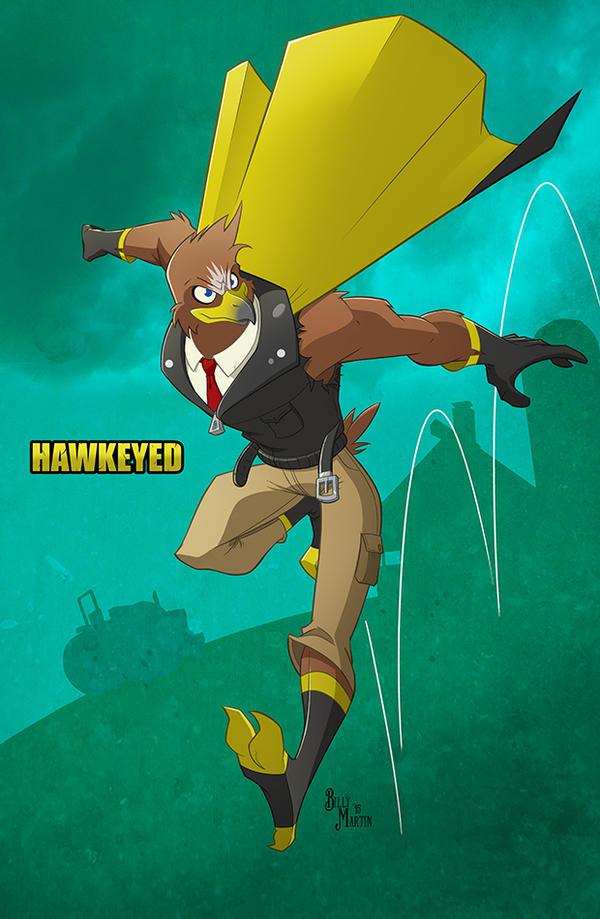 Iowa's Hawkeyed by Bloodzilla-Billy