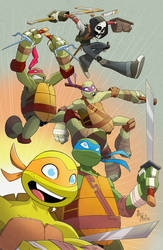 TMNT 2015 by Bloodzilla-Billy