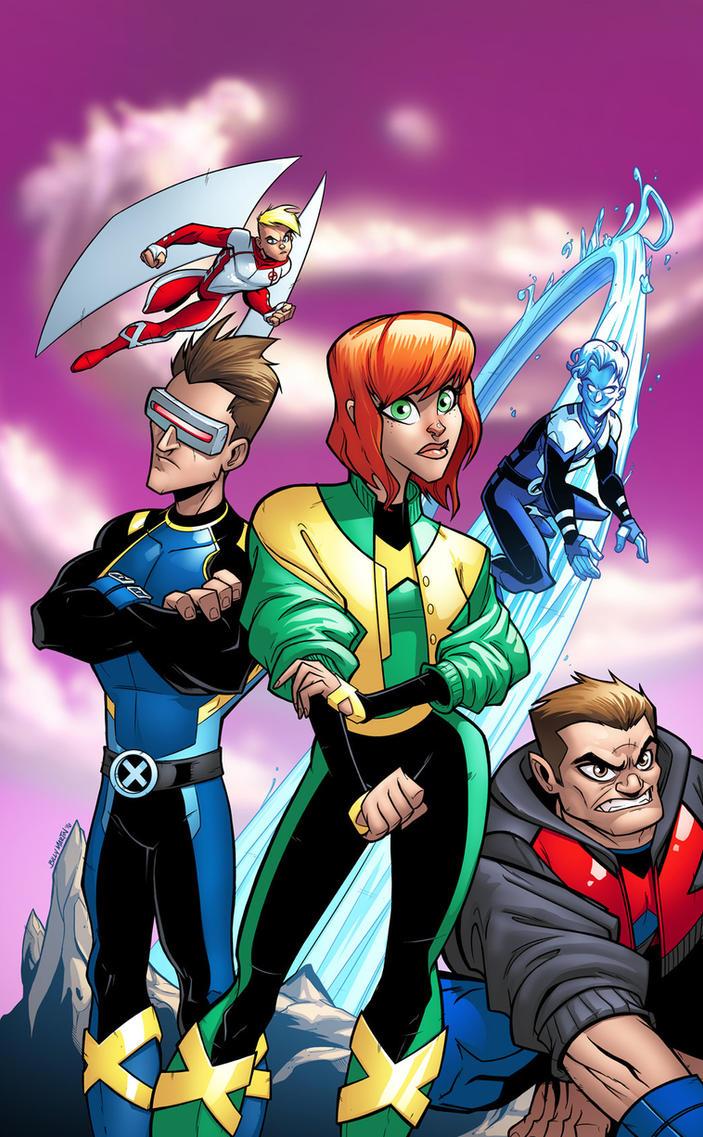 X-Men Blue #1 Cover by Bloodzilla-Billy