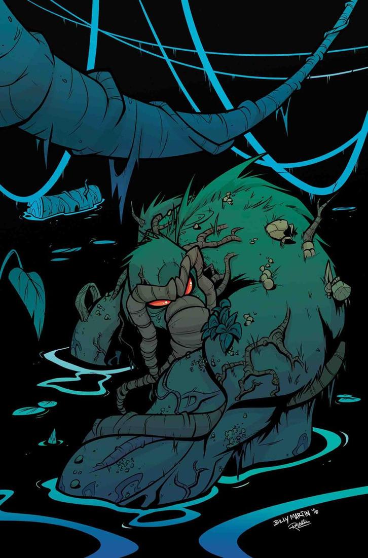 Man-Thing Vol 5 #1 by Bloodzilla-Billy