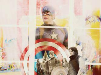 Captain American by waitingondhr