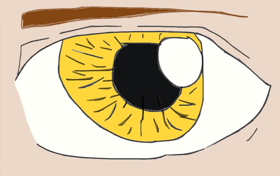 Golden eye by Avey-Cee