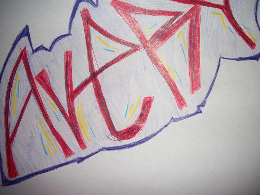 quick draw graffiti by Avey-Cee