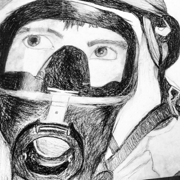 firefighter in charcoal :) by Avey-Cee