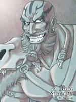 Critical Role Grog Strongjaw by Takayuuki