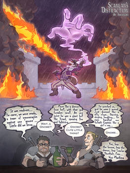 Critical Role Scanlan's Distraction