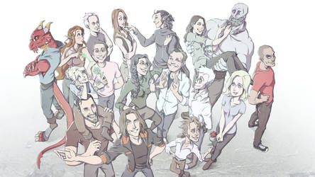 Critical Role 50th anniversary by Takayuuki