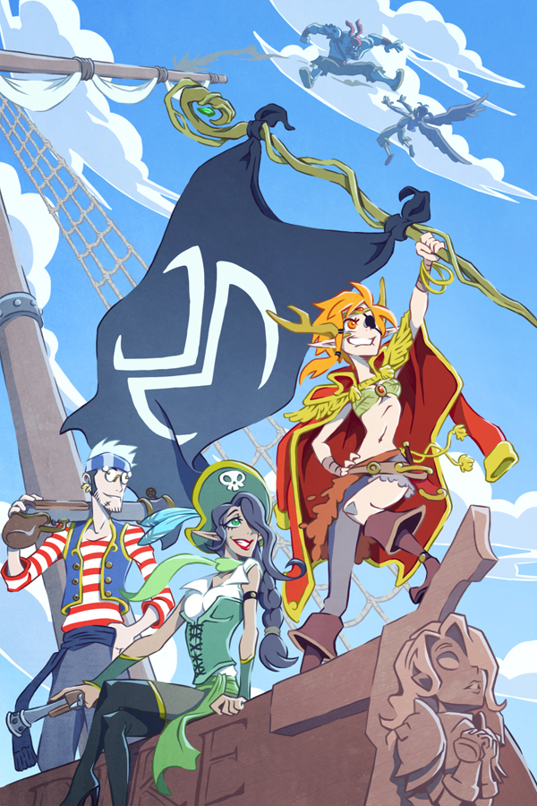 Critical Role Pirate Vox Machina by Takayuuki