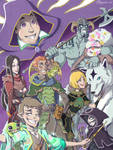 Commission - Adventure Party