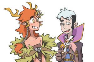 Critical Role Kiki and Percy by Takayuuki