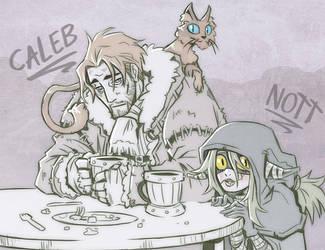 Critical Role - Caleb and Nott by Takayuuki