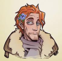 Critical Role Caleb Flower Hair by Takayuuki