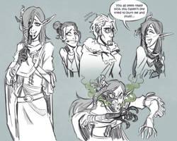 Critical Role - Sketches: Calli