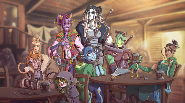 Critical Role - In a Tavern They Met by Takayuuki