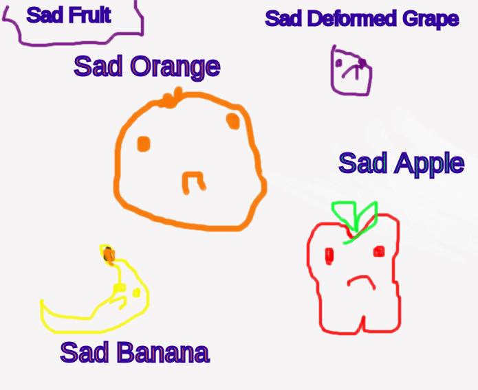 The Sad Fruit Club by hahakool1234