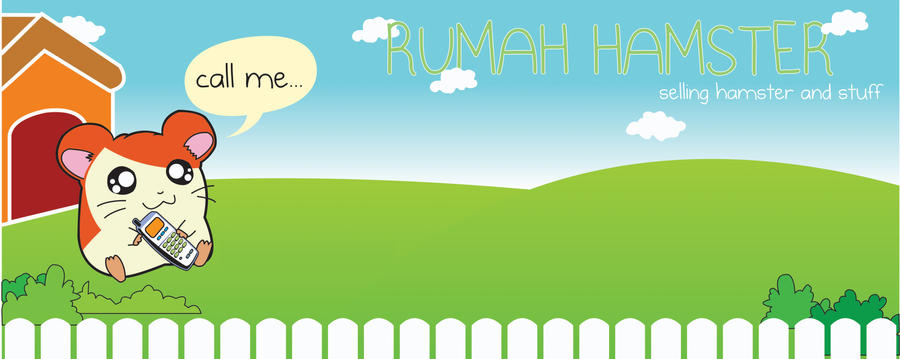rumah hamster (spanduk) by go-delicius