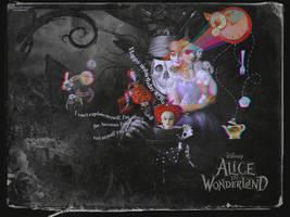 Alice in Wonderland by ninevolt-heart