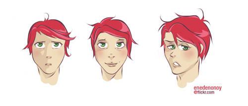 random face - Gerard Way