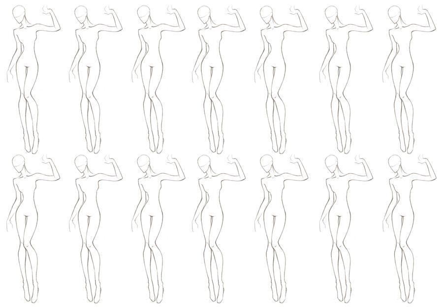 free printable fashion templates