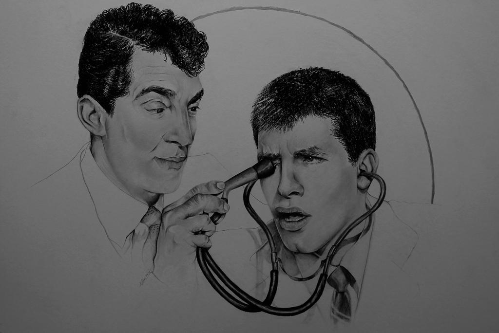Martin and Lewis by JONASADDICT2
