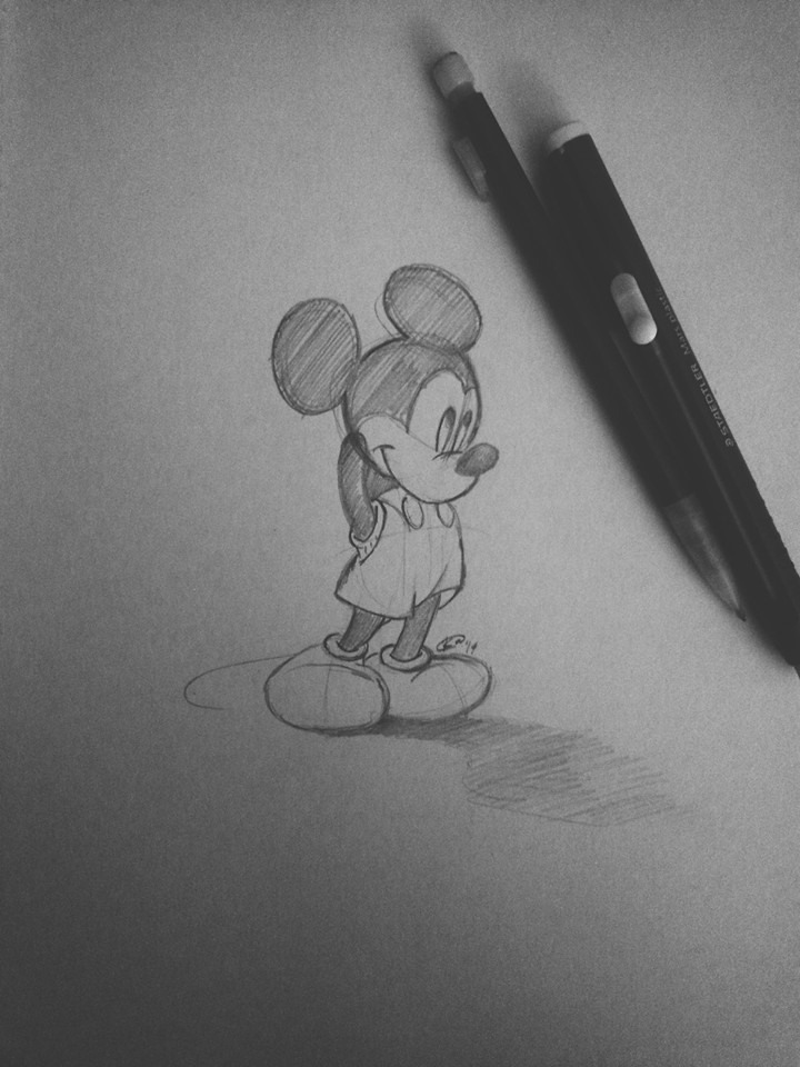 Mickey Mouse by JONASADDICT2