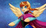 .My Frozen Pony: Anna.
