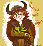 .HTTYD: early concept.