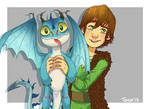 .HTTYD: A little present from Hiccup.
