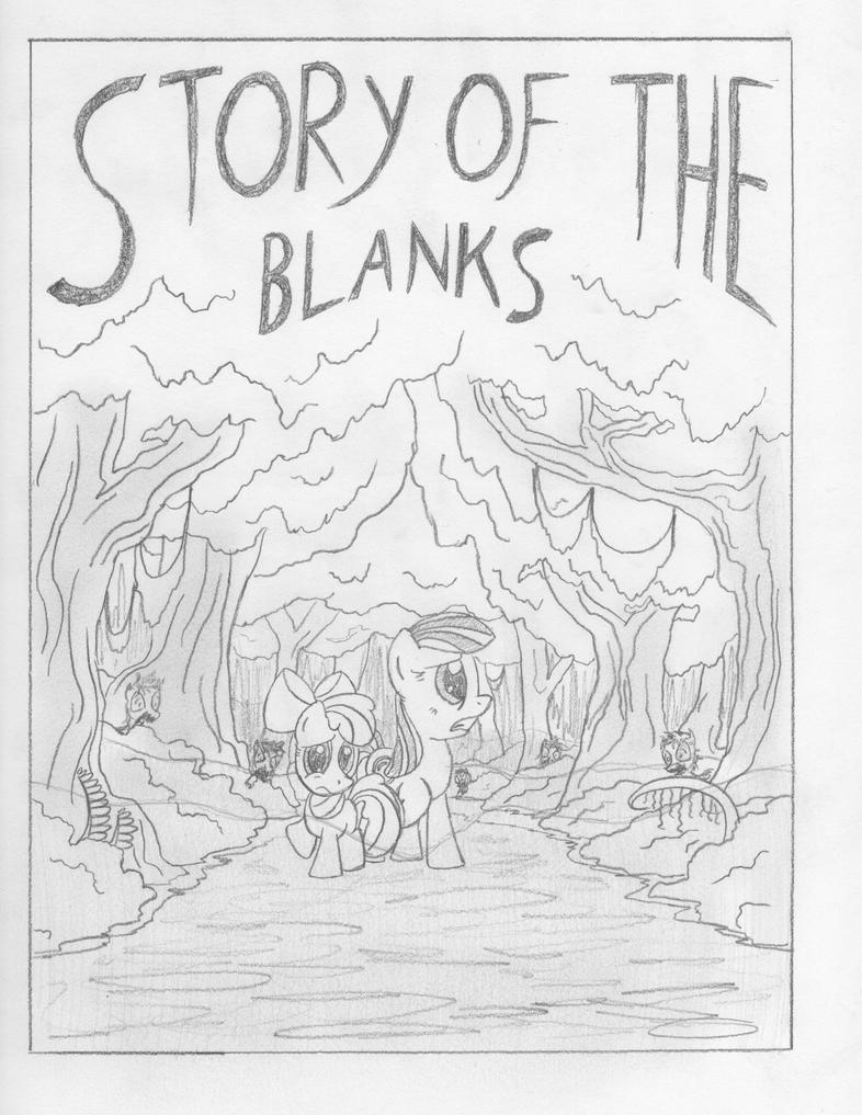 Comic Story Of The Blanks By Template93 WIP Derpy News My Little Pony