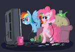 Pinkie Dash Playing Games