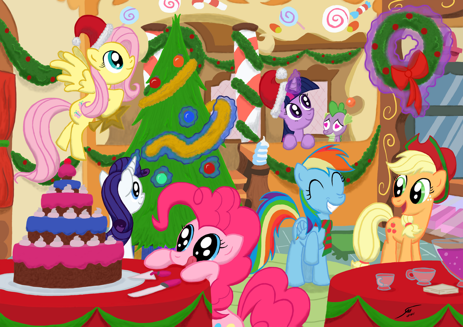 Party At Sugar Cubes by Template93