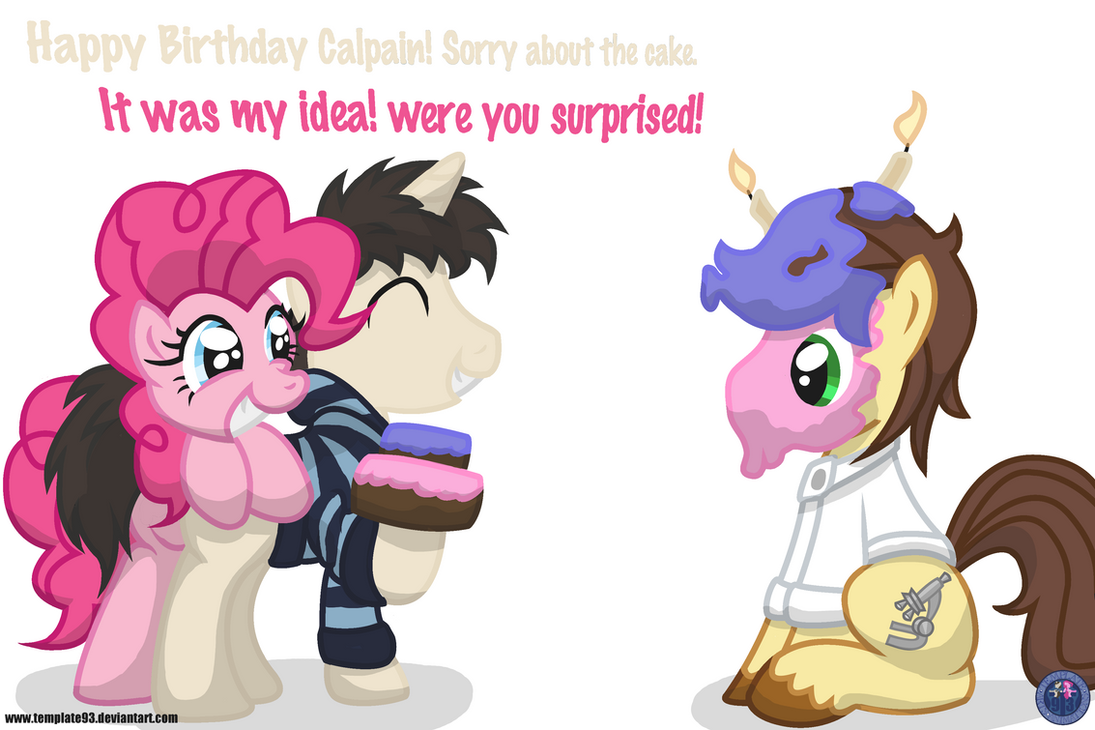 Calpain's Cake surprise! by template93