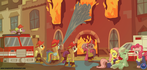 Mane 6 Firefighters