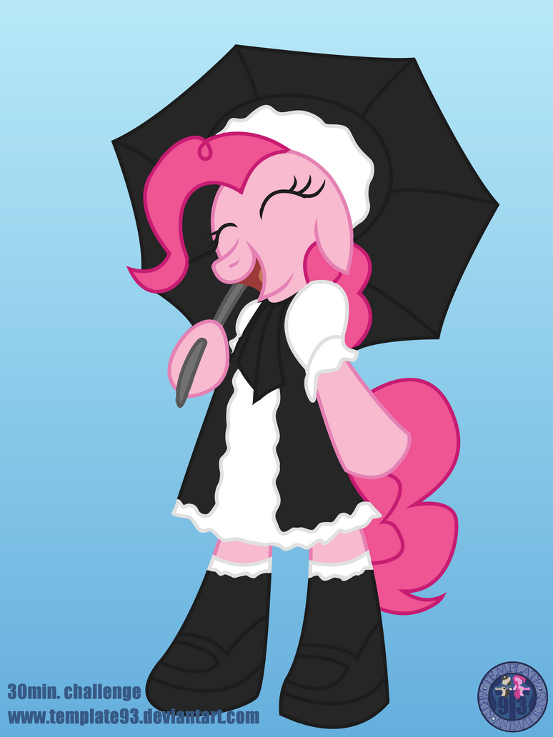 30 Min. challenge - Gothic Lolita by Template93