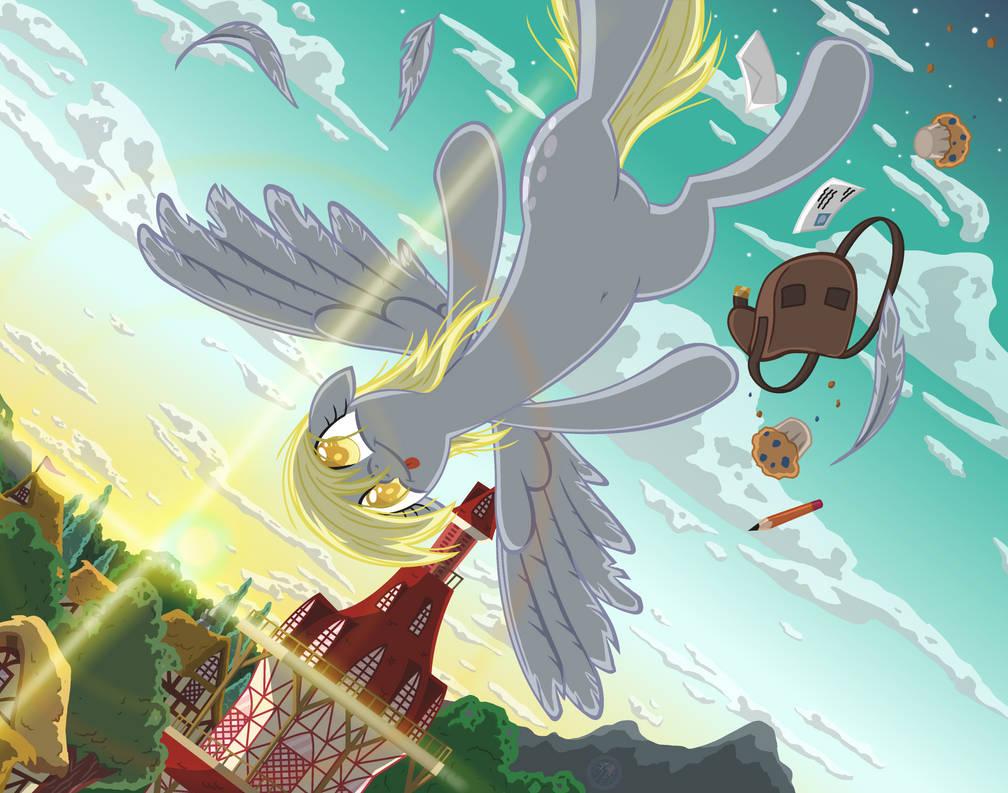Derpy Flight By Template93
