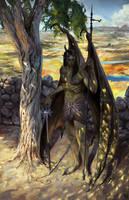 Son of Saturn, Angel of Misfortune by Frrruuussstraation