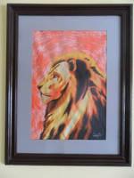 Rare lion profile by Ezequielmercado