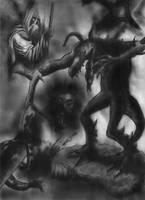 Mythological illustration by Ezequielmercado
